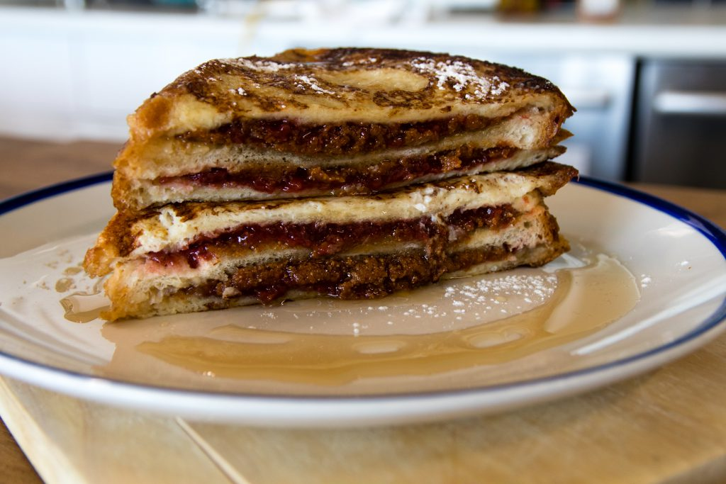 PB & J French Toast