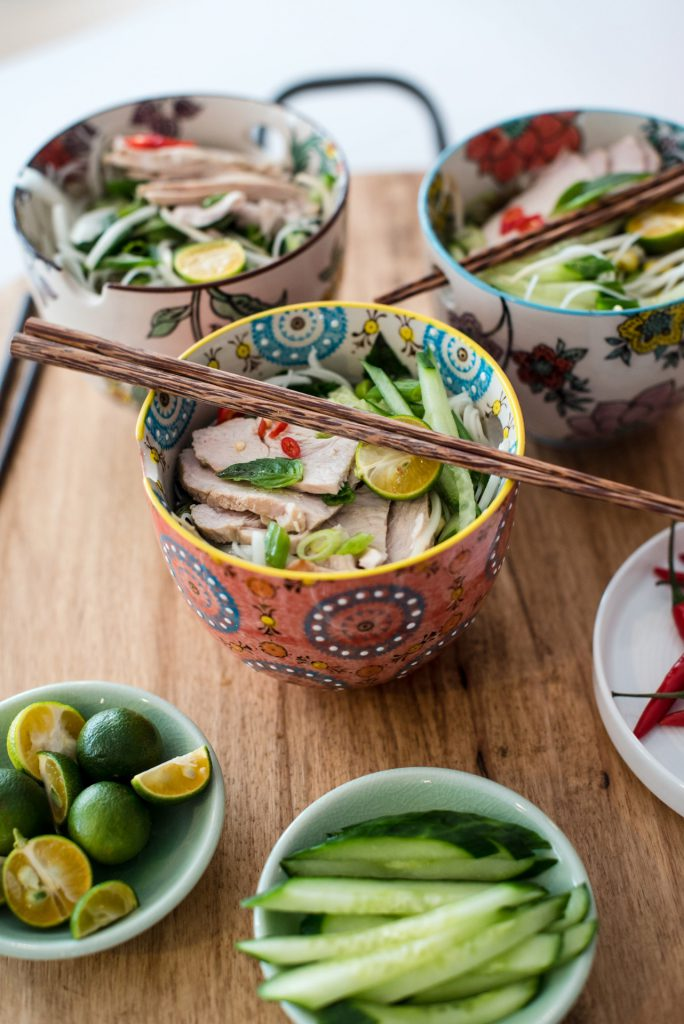 Vietnamese Turkey Pho Soup