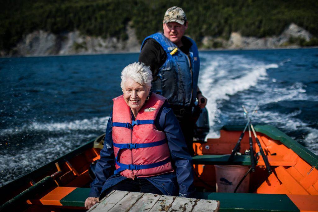 Grandma GiGi Boat Ride