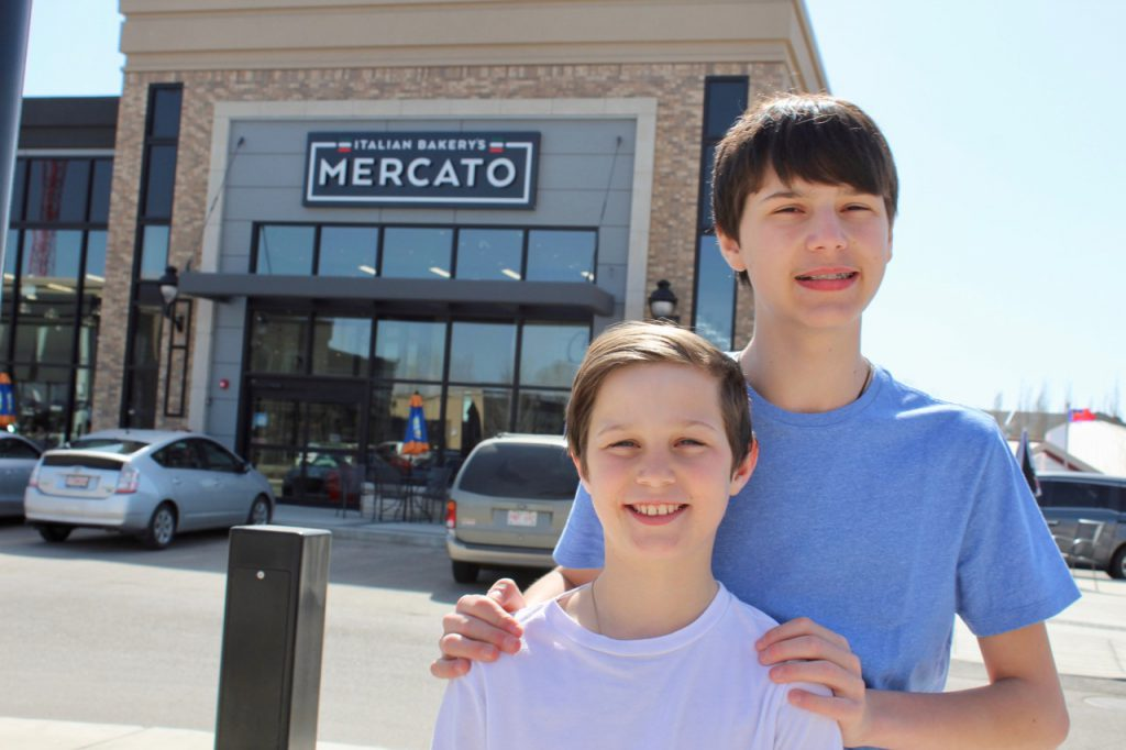 Mercato Family Brothers Portrait