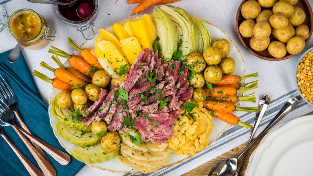 Newfoundland Jiggs' Dinner