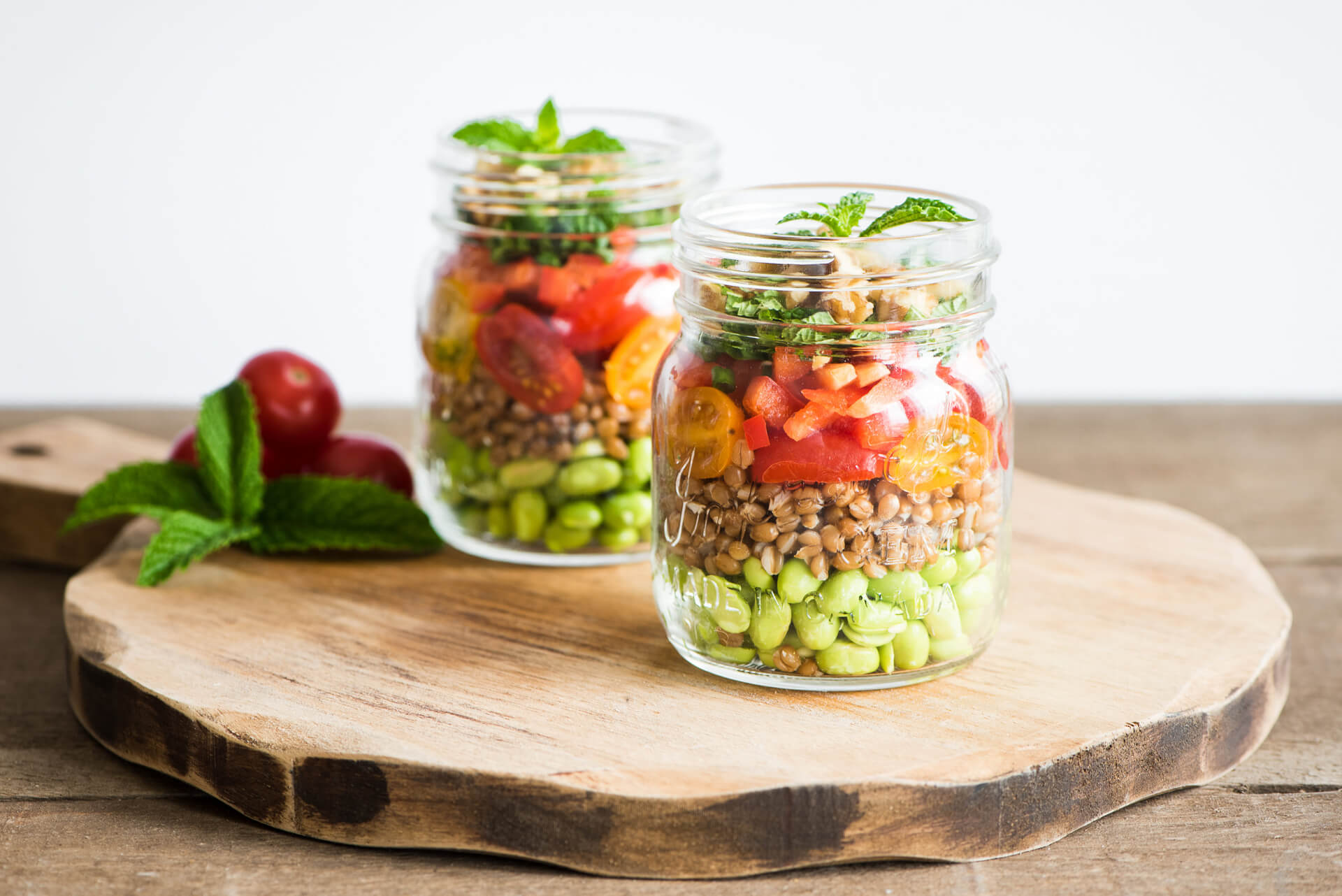 Wholehearted Wheat Berry Salad