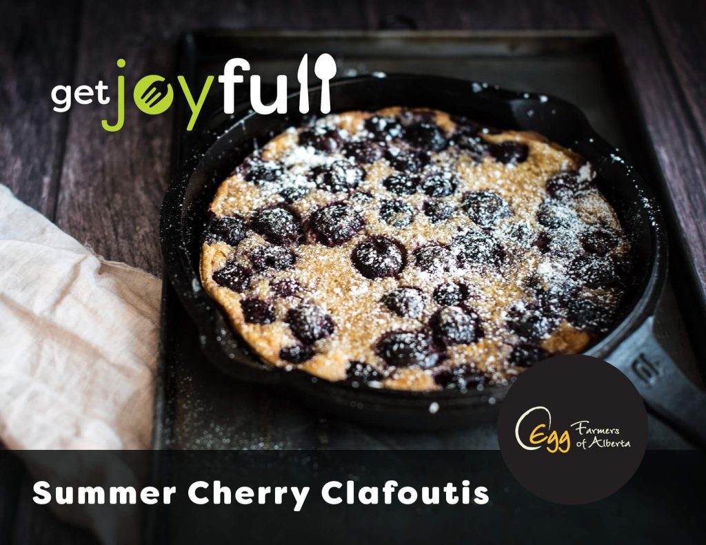 Cherry Clafoutis Recipe Card Cover