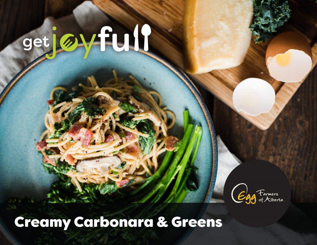 Creamy Carbonara Recipe Card Cover