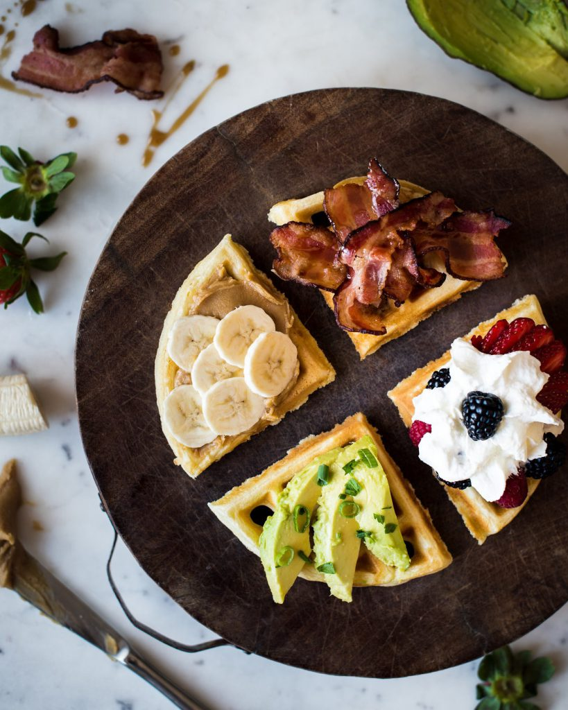 Waffles Four Ways