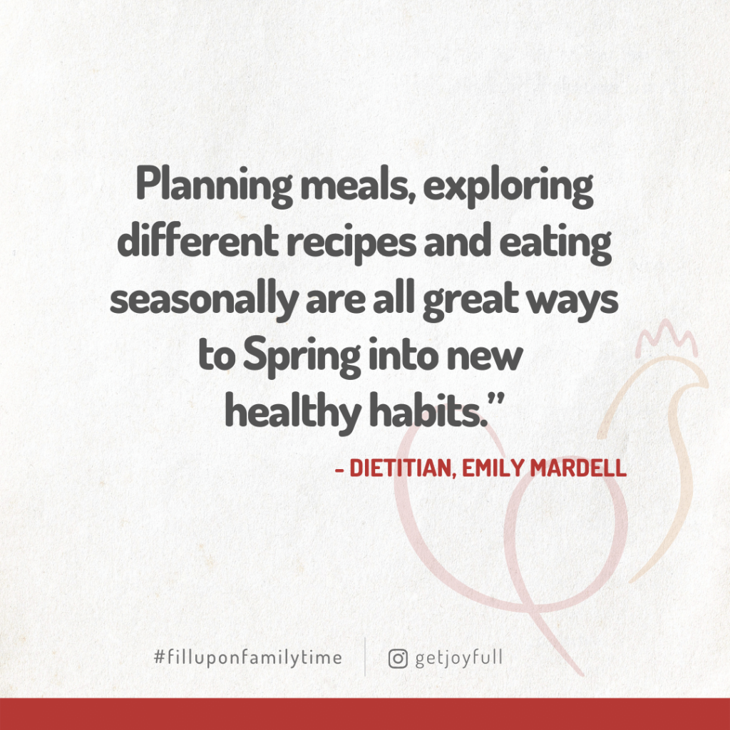 March ACP Dietitian Quote