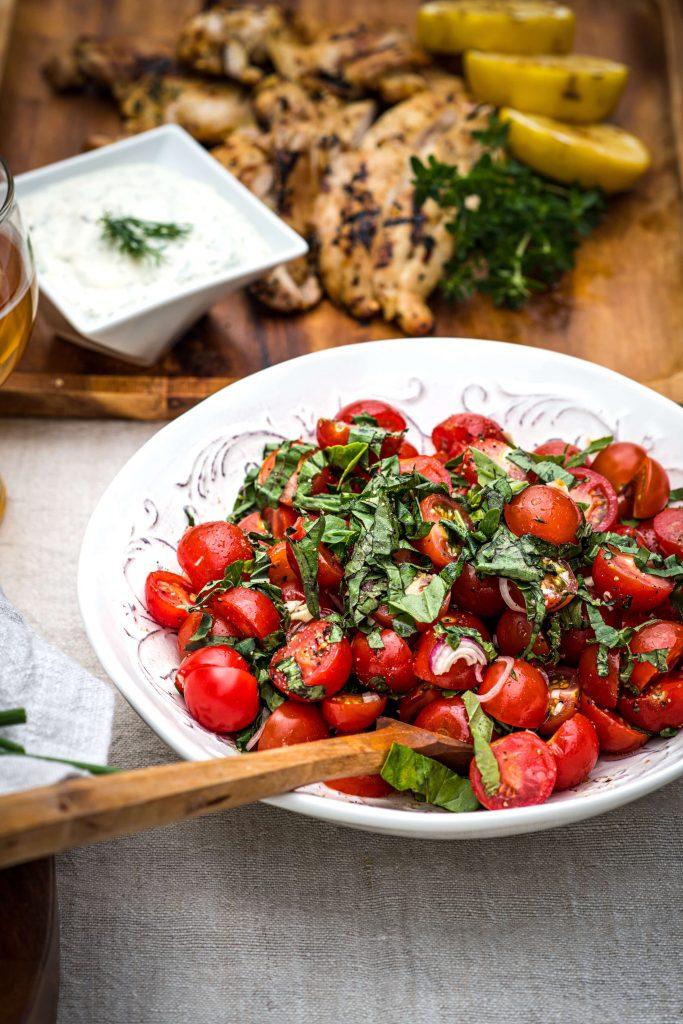 Backyard BBQ Box & Social Menu - Fresh Tomato-Basil Salsa