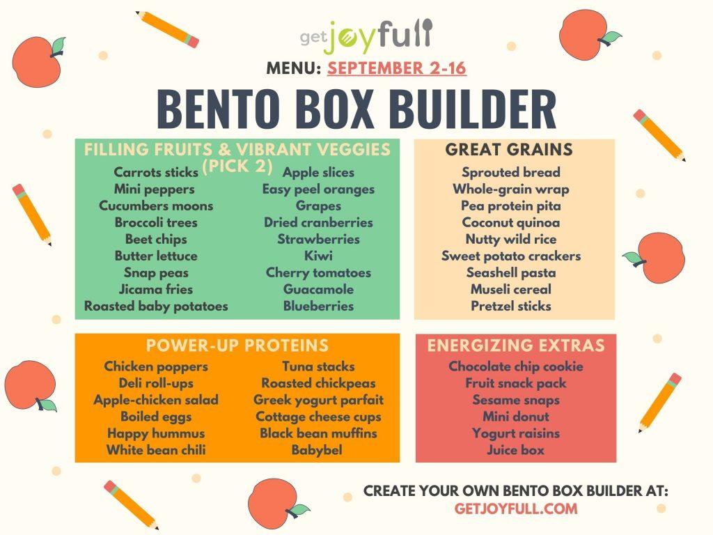 Bento Box Builder