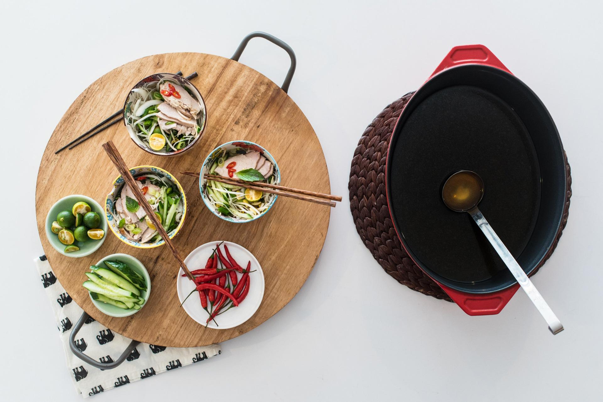 Vietnamese Turkey Pho Soup